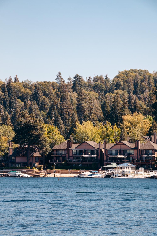 Lake Arrowhead - Roads and  Destinations