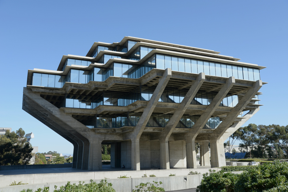 Geisel Library -- Roads and Destinations.