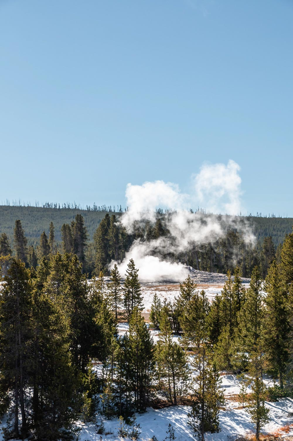 Old Faithful- Roads and Destinations