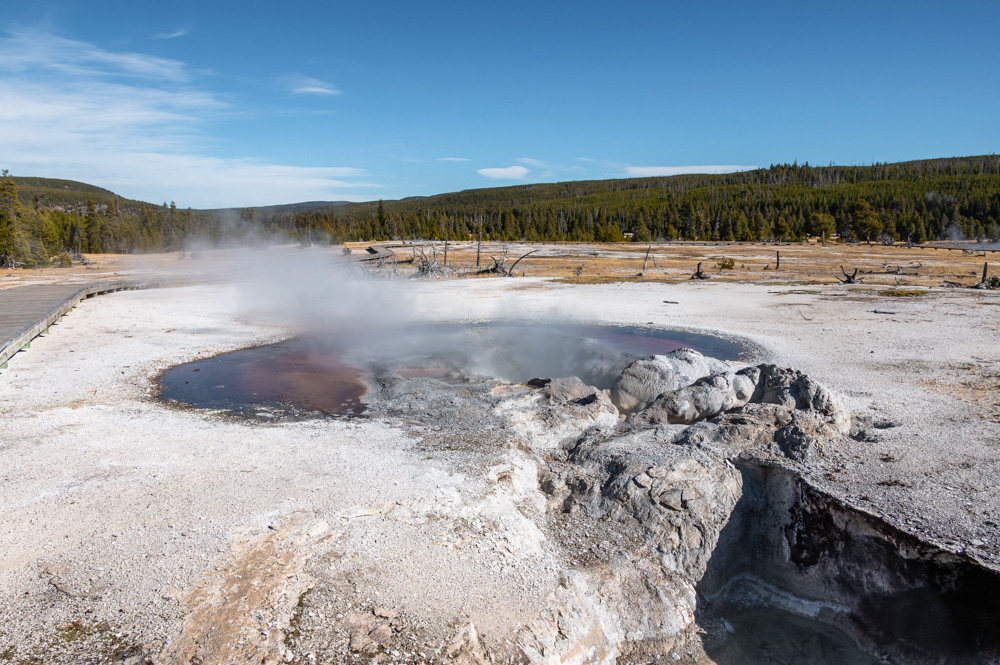 Yellowstone - Roads and Destinations