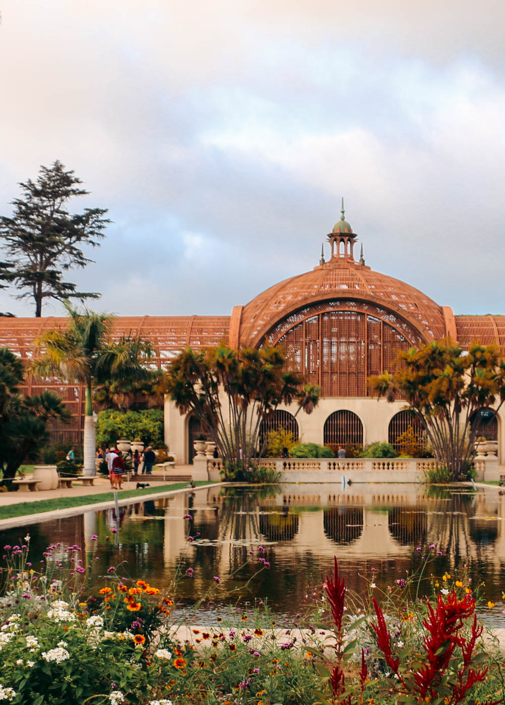 Botanical Building and Lily Pond - Roads and Destinations