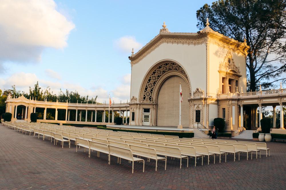 Spreckels Organ Pavilion - Roads and Destinations