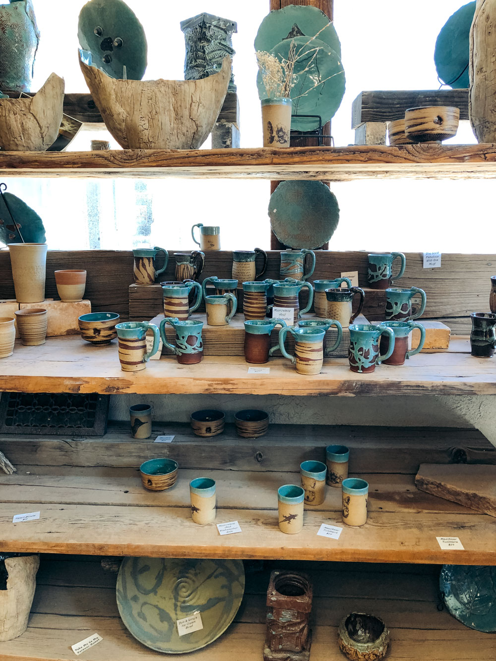 Pottery in California - Roads and Destinations
