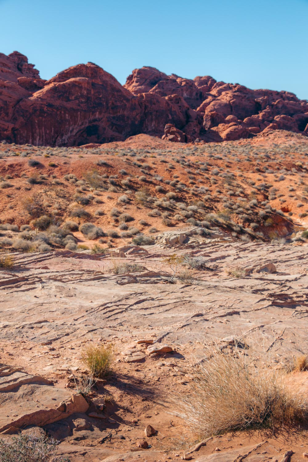 Valley of Fire - Roads and Destinations