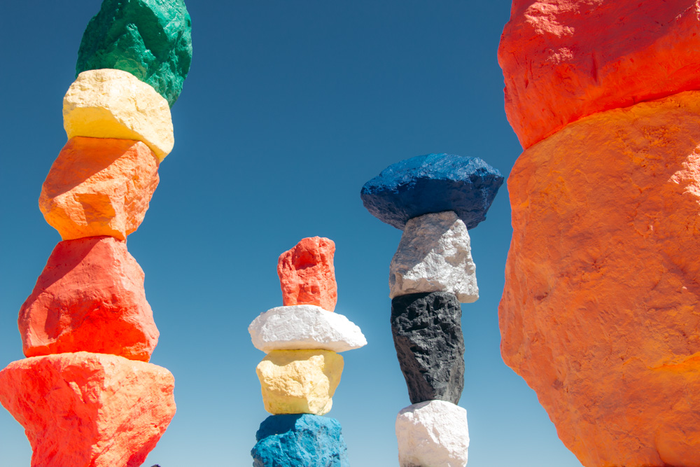 Visit Seven Magic Mountains - Roads and Destinations
