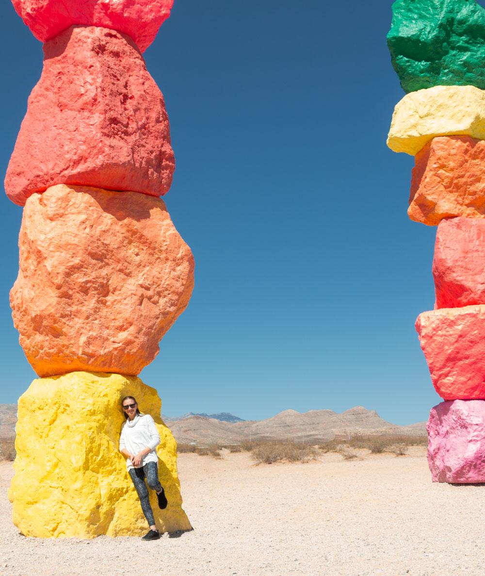 Desert Installation, Nevada - Roads and Destinations