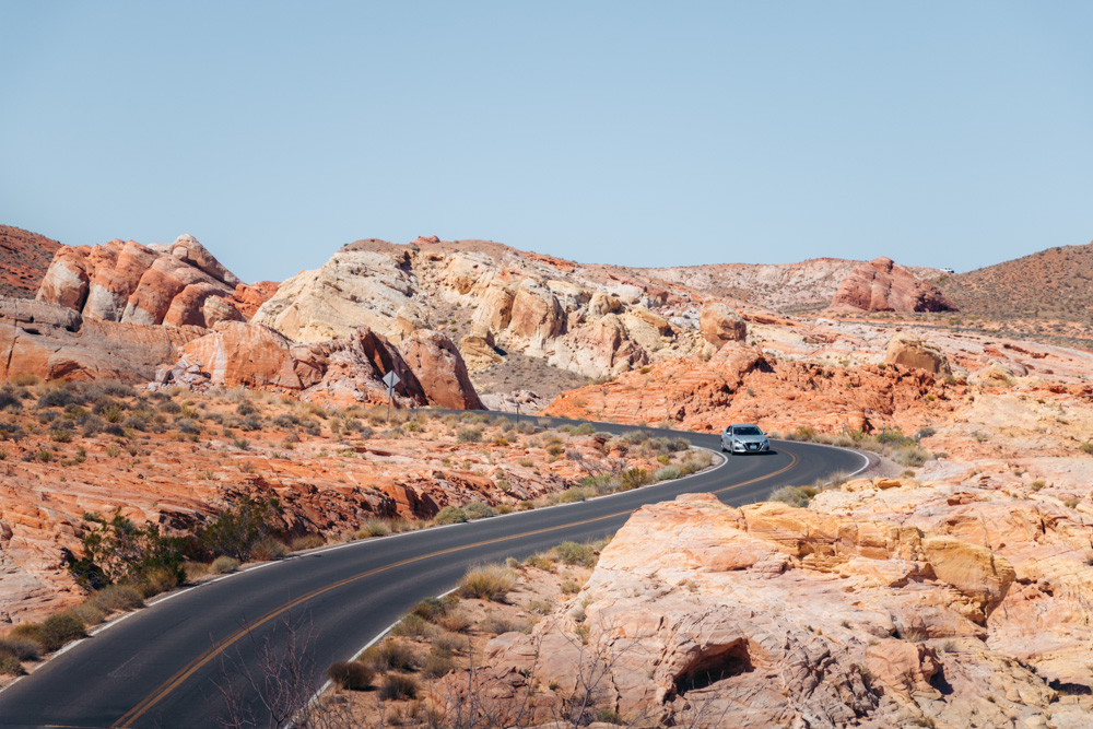 Nevada - Roads and Destinations