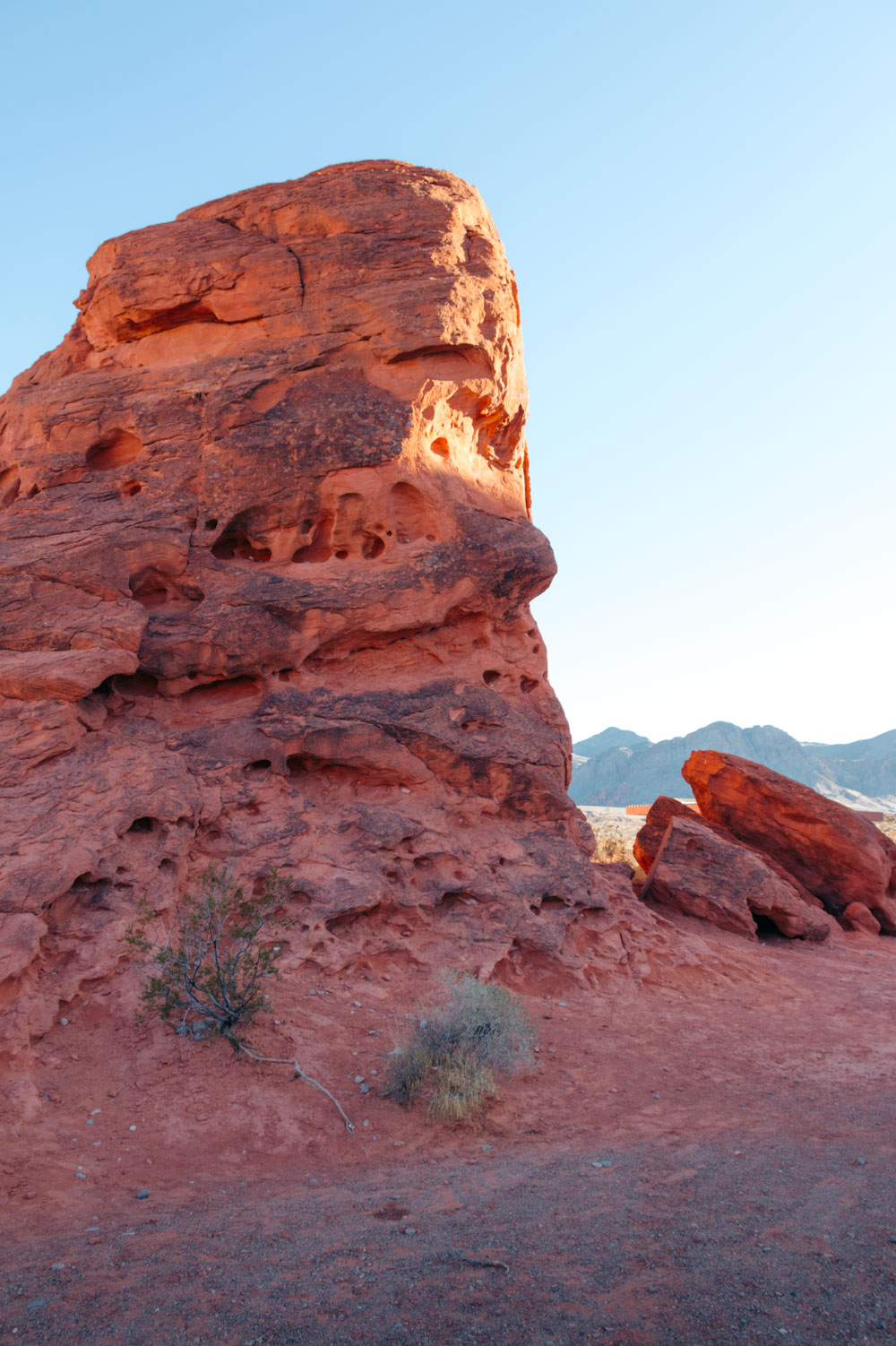 Nevada, State Park - Roads and Destinations