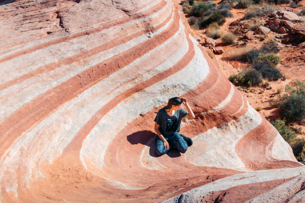 Valley of Fire, Nevada - Roads and Destinations