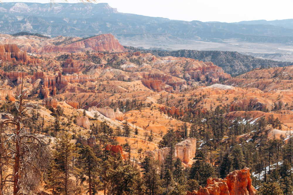 Bryce Canyon National Park - Roads and Destinations