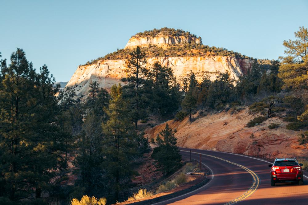 Upper East Canyon, Utah - Roads and Destinations.