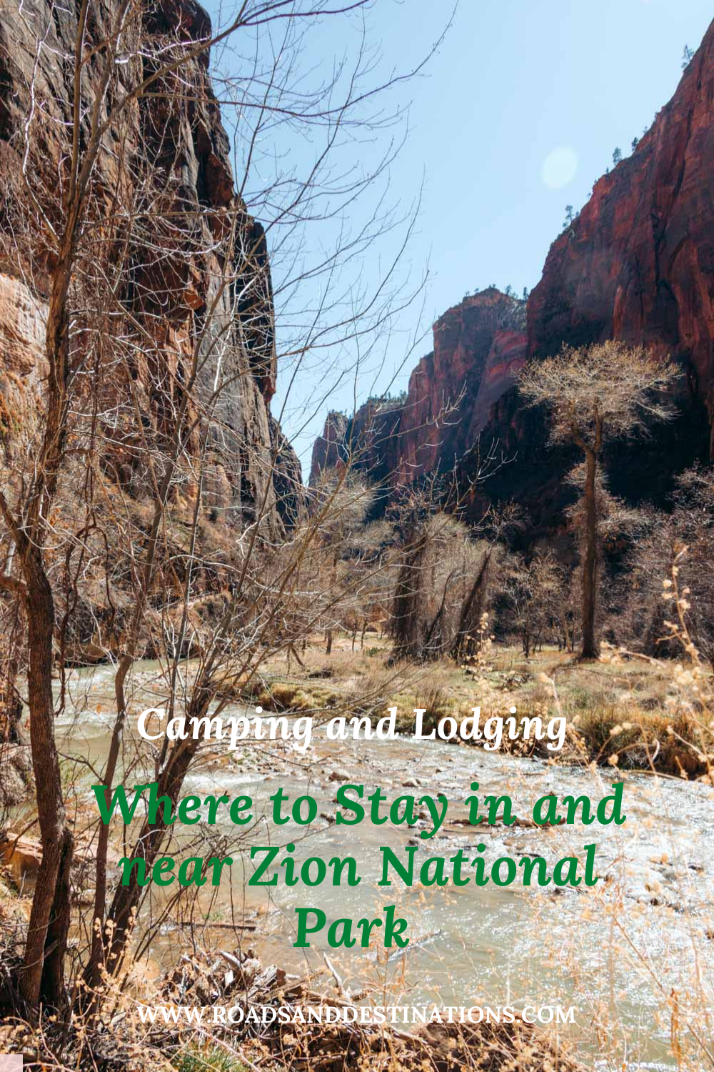 Where to stay in and near Zion National Park - Roads and Destinations