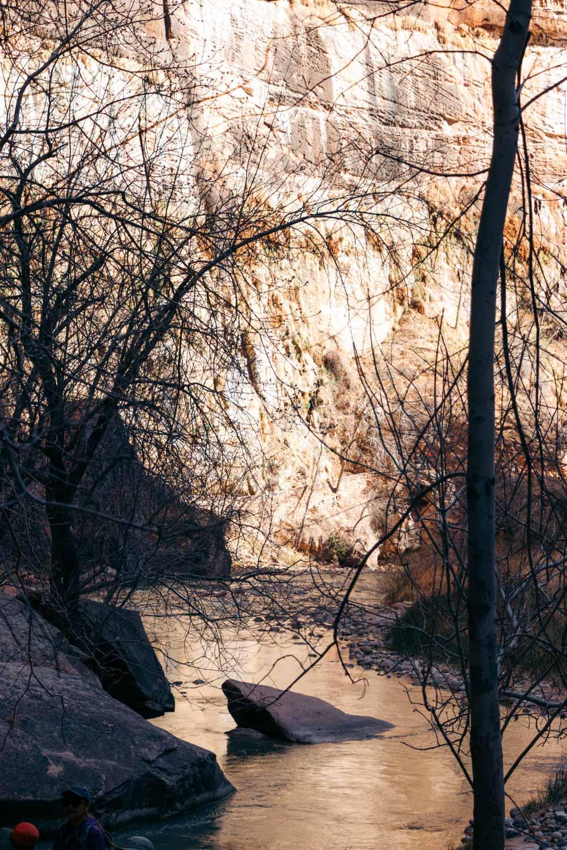 Zion Riverside Walk Trail hike - Roads and Destinations