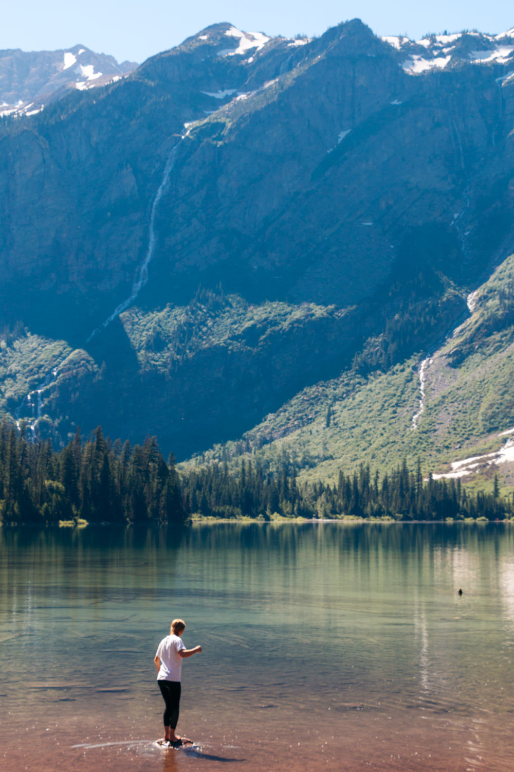 Avalanche Lake Hike via the Trail of the Cedars - Roads and Destinations