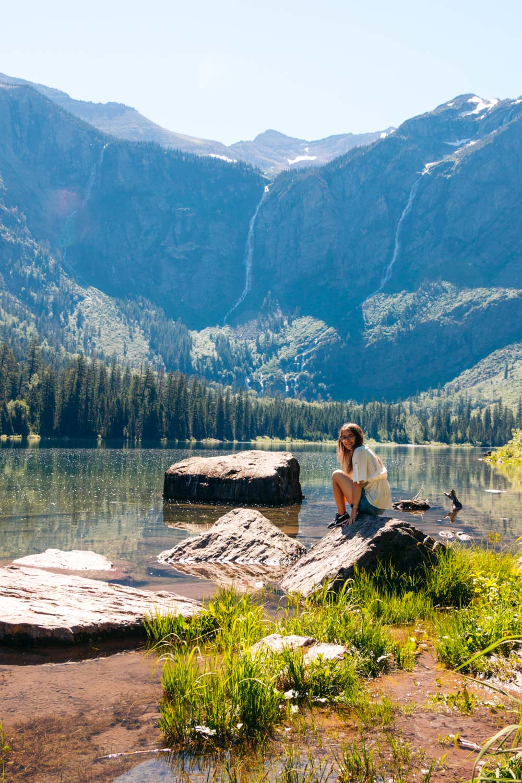 West Glacier, Montana - Roads and Destinations