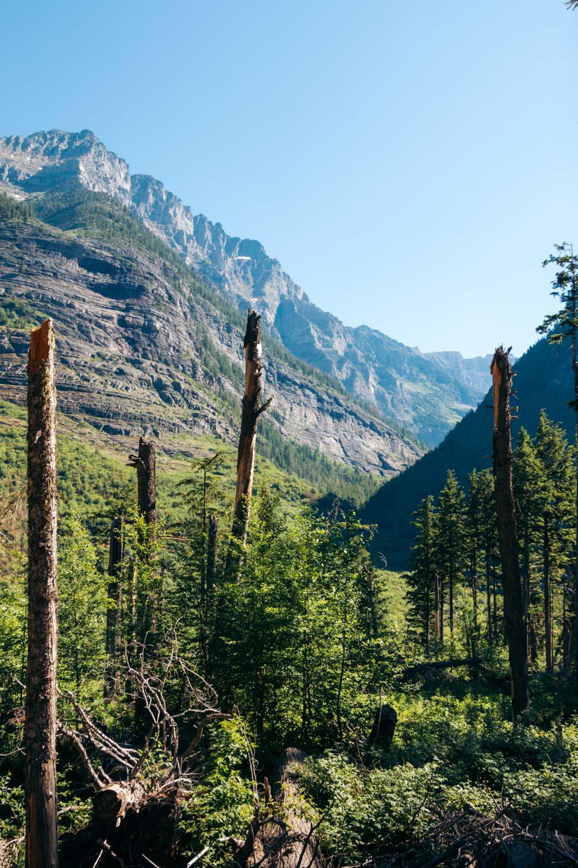 West Glacier - Roads and Destinations