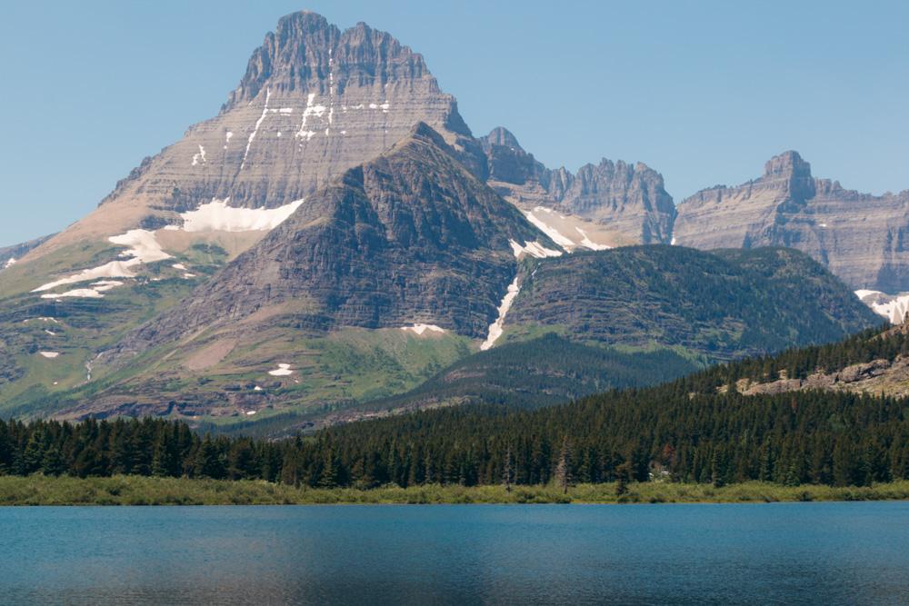 Glacier National Park Travel Guide, Visit 5 Main Sections - Roads and Destinations