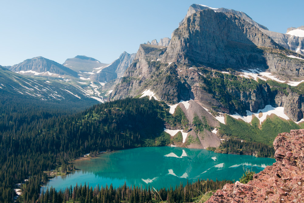 Grinnell Glacier - Roads and Destinations