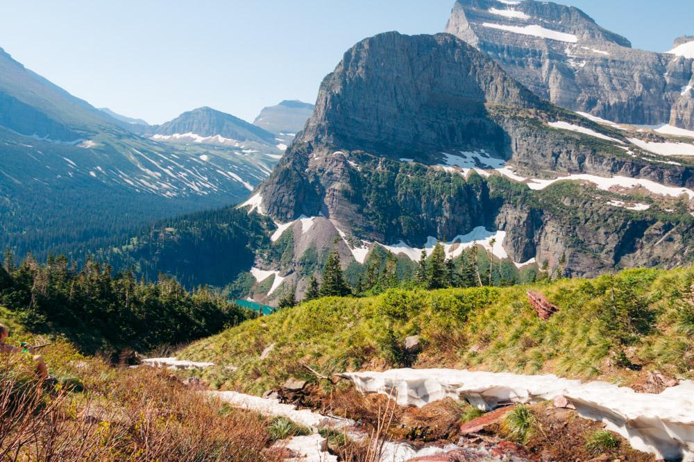 Many Glacier - Roads and Destinations