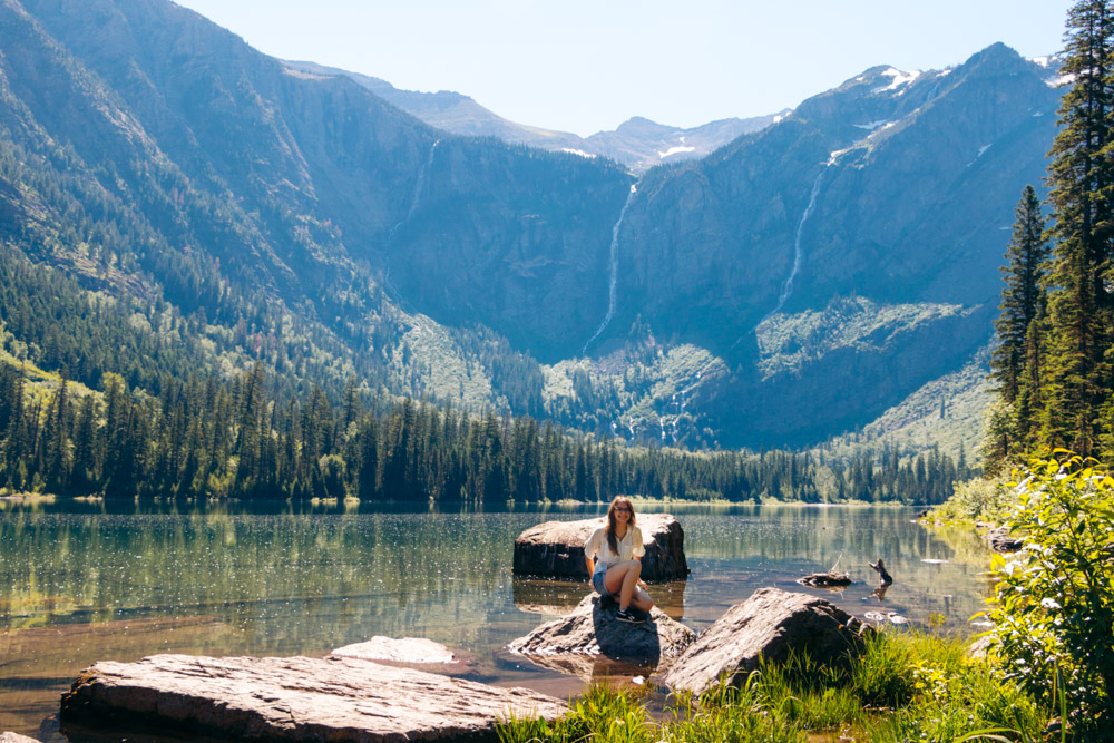 Iconic Photo Spots in Glacier National Park - Roads and Destinations