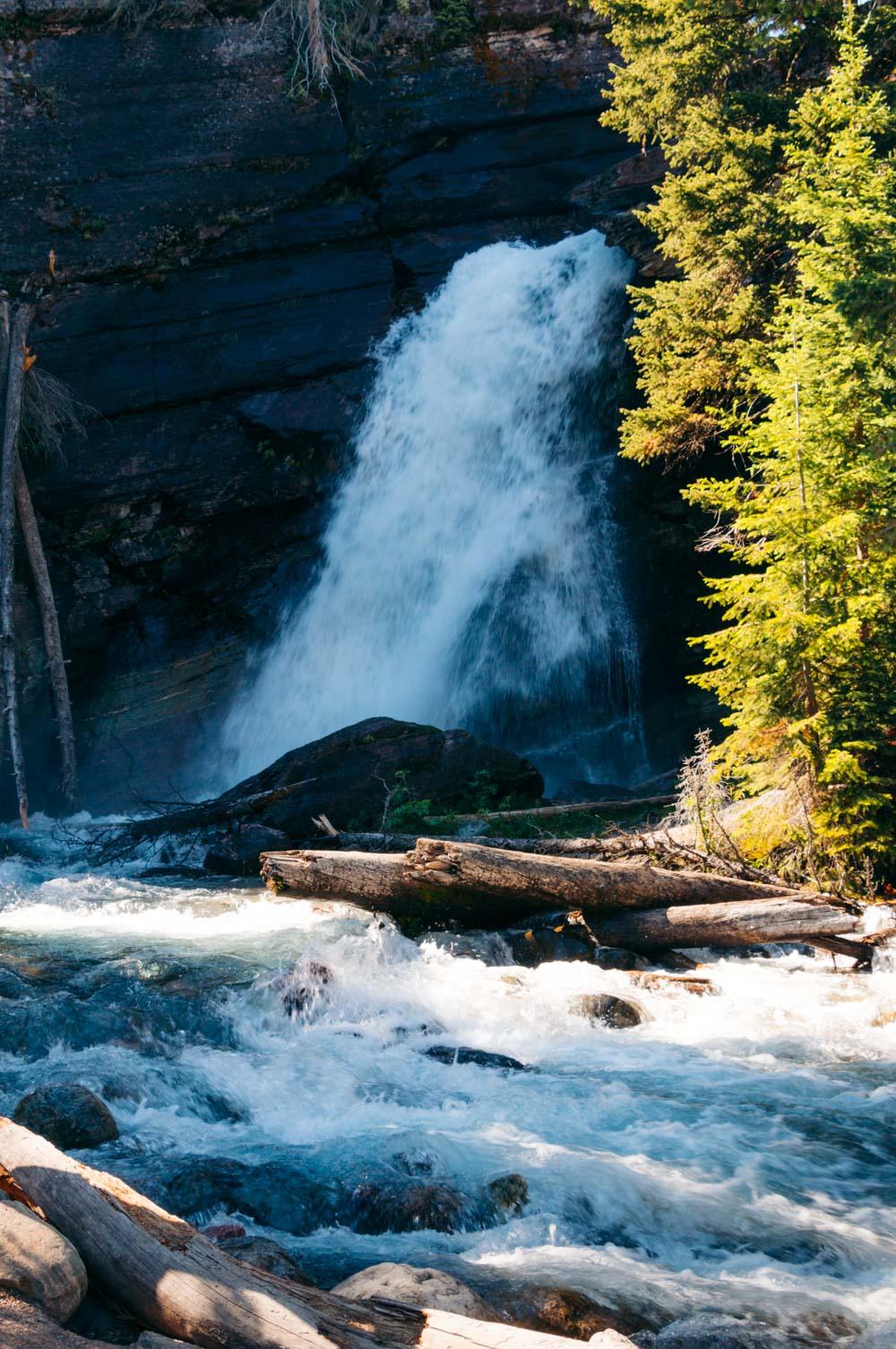 Baring Falls -- Roads and Destinations