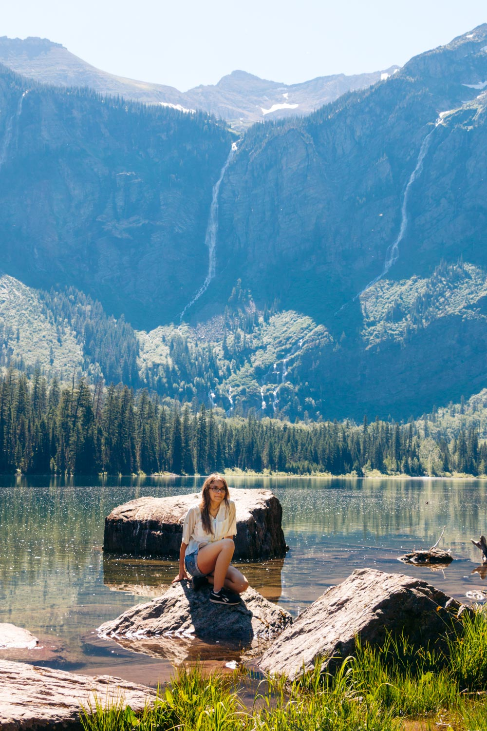 The most photographed cascades and waterfalls in Glacier National Park -- Roads and Destinations