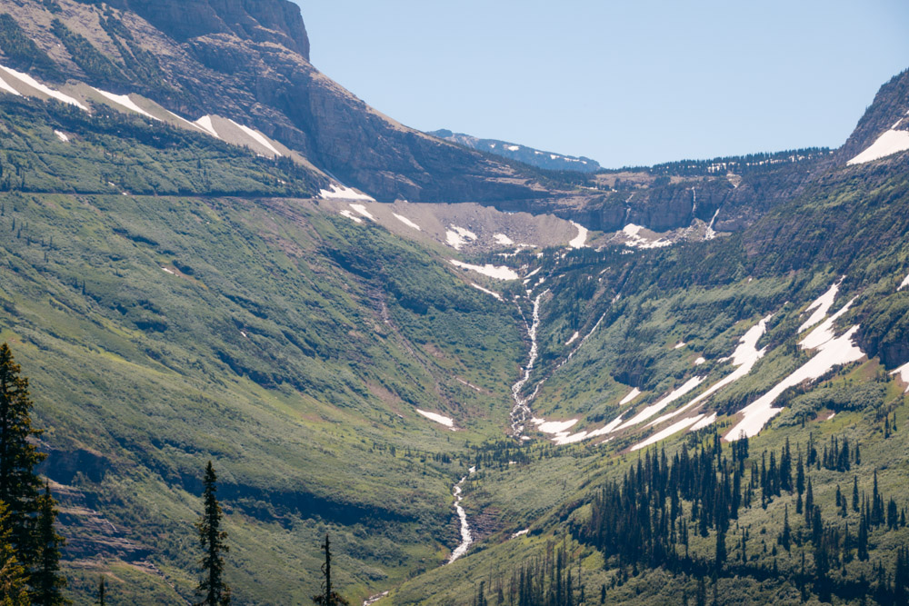 The most photographed cascades and waterfalls in Glacier National Park - Roads and Destinations