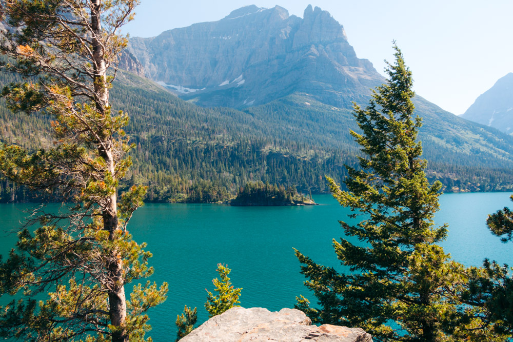 St. Mary Lake, Glacier National Park - Roads and Destinations