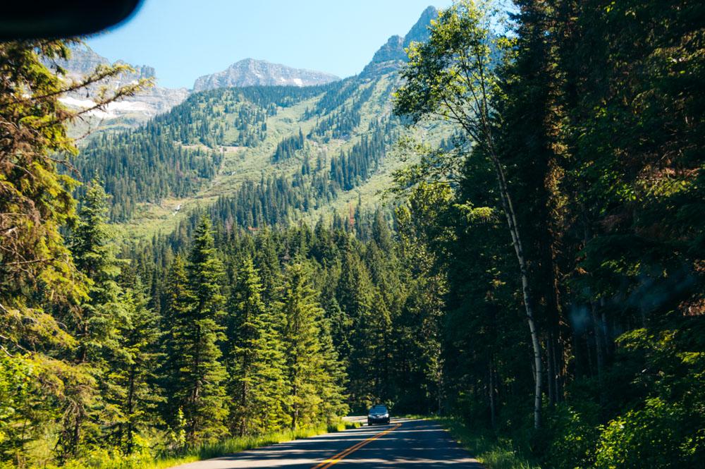 Glacier National Park - Roads and Destinations
