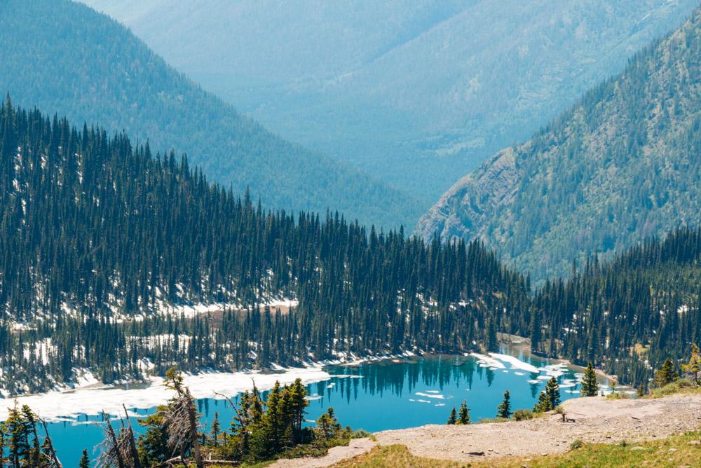 Hidden Lake ----- Roads and Destinations
