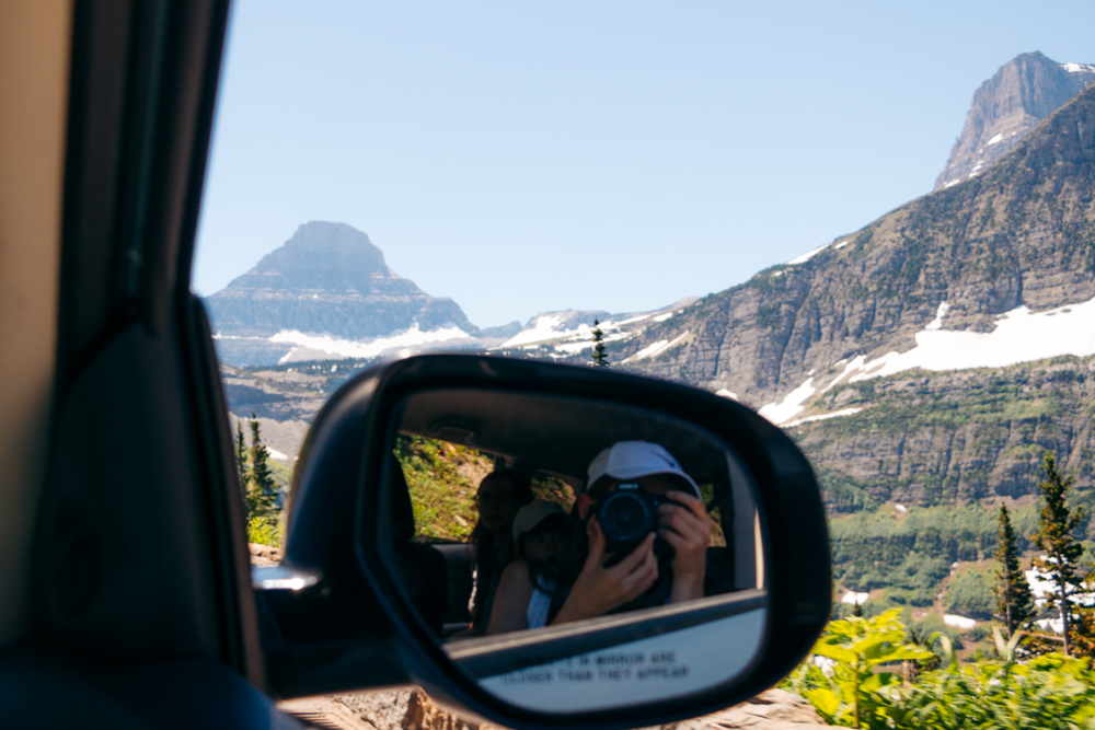 Glacier National Park ----- Roads and Destinations